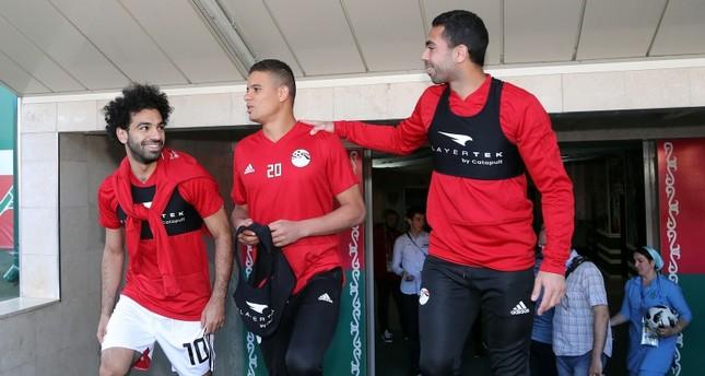 صلاح يخوض أول تمرين جماعي مع المنتخب المصري