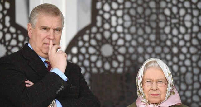Britian's Queen Elizabeth II and Prince Andrew watch the Endurance event during the third day of the Royal Windsor Horse Show, in Windsor, Britain, 12 May 2017. EPA Photo