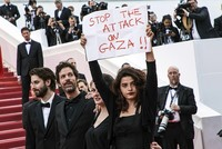 Israel's massacre in Gaza reaches Cannes red carpet