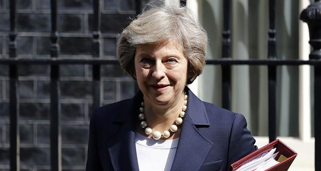 Britain's Prime Minister Theresa May (AP Photo)