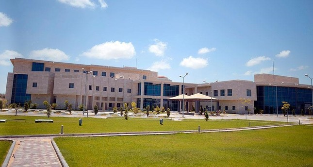 A 3-D model of the Turkish hospital to be built in Gaza (AA Photo)