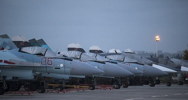 Russia downs unidentified drone near Syria air base
