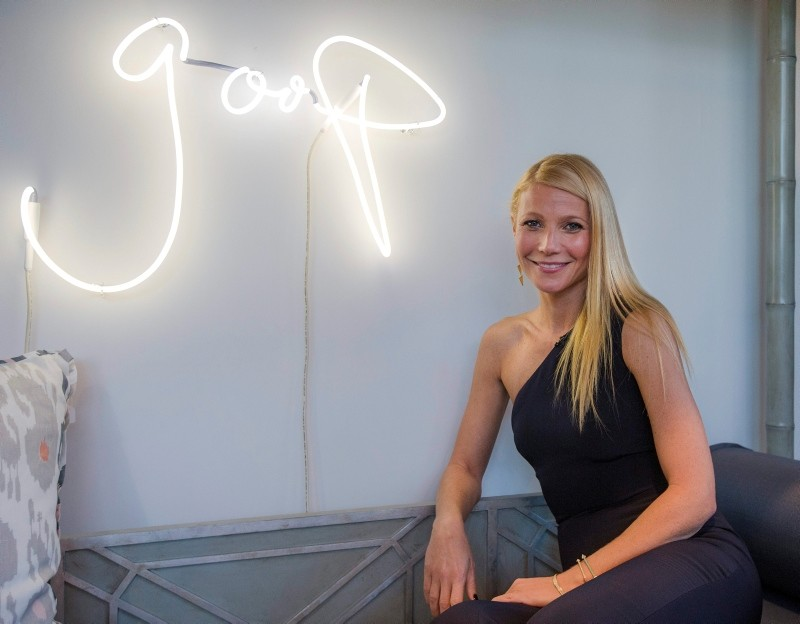 In an announcement made Tuesday, Sept. 4, 2018, Paltrowu2019s lifestyle company Goop has agreed to pay $145,000 in civil penalties over products. (FILE Photo)