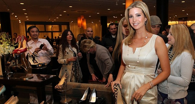 Ivanka Trump launches her Spring collection Of footwear at the Topanga Nordstrom in Canoga Park, in February 2011 (AFP Photo)