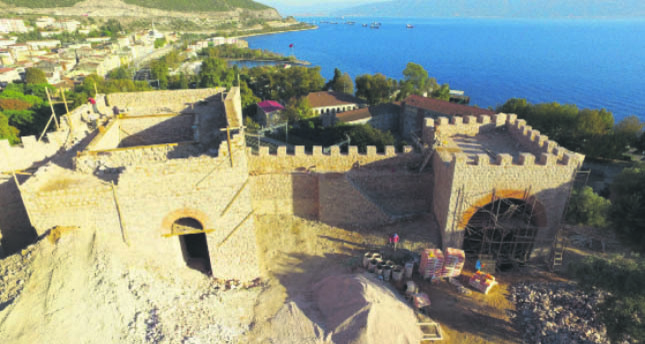 Hereke Castle to be revived centuries later