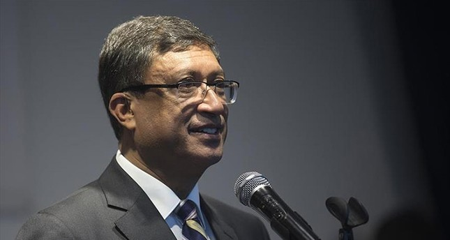 India's Ambassador to Turkey Sanjay Bhattacharyya (AA Photo)