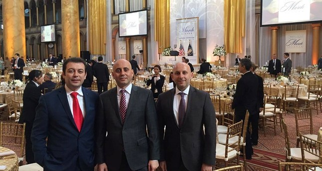 Cemil Teber, Bilal Ekşili, Süleyman Turhanoğulları at Republican Party National Committee's dinner in Washington, DC.  ( Facebook Photo)