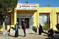 Tal Abyad Hospital functions again with Turkey's efforts