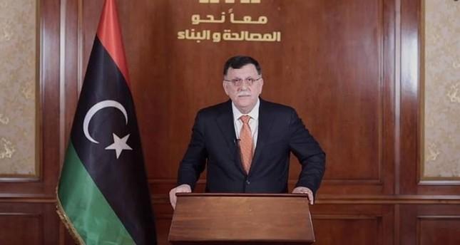 السراج يعلن عن مبادرة من سبع نقاط لحل الأزمة في ليبيا