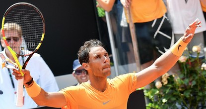 Nadal overcomes crowd and Fognini to reach Rome semifinals