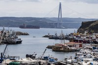 Explorers anchor at Bosporus in first stop of quest to test ancient Egyptian sea route