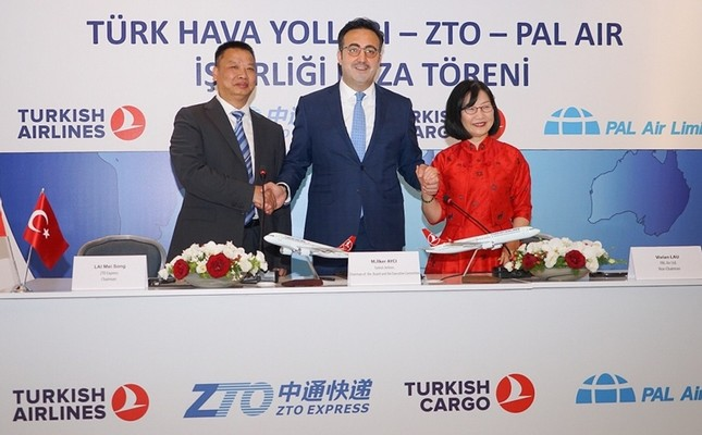 Αποτέλεσμα εικόνας για Home/News from Turkey/Turkish Airlines forms joint venture with China's ZTO Express and Hong Kong's Pal Air Turkish Airlines forms joint venture with China's ZTO Express and Hong Kong's Pal Air