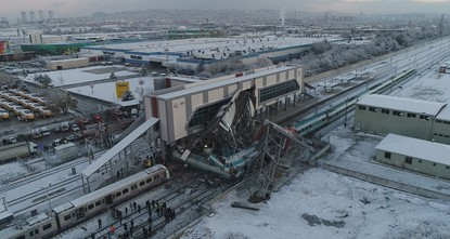 9 dead, 47 injured in train accident in Ankara