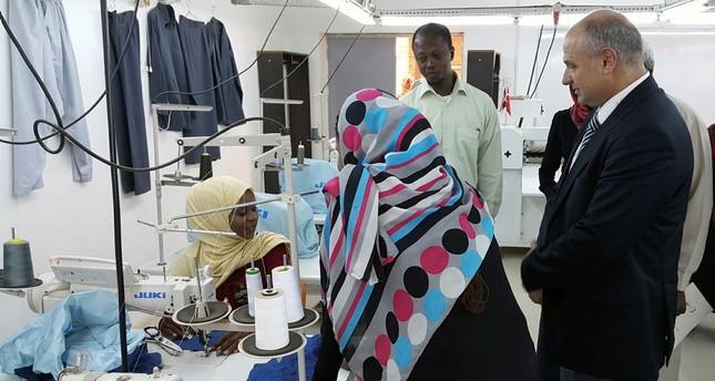 تيكا تدرب السودانيين في مجالات مهنية مختلفة