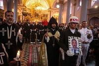 Armenian church hosts funeral ceremony for Cyprus war veteran