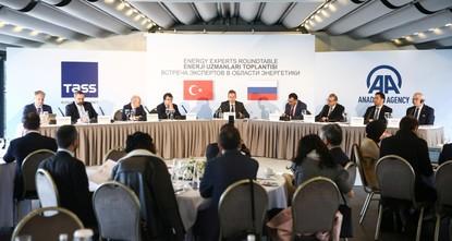خبراء أتراك وروس يناقشون مستقبل الغاز الطبيعي وخط السيل التركي