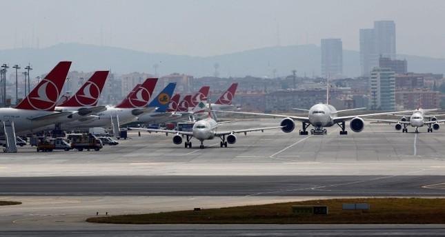 مساحة مطار أتاتورك تبلغ أربعة أضعاف مساحة سنترال بارك في نيويورك.