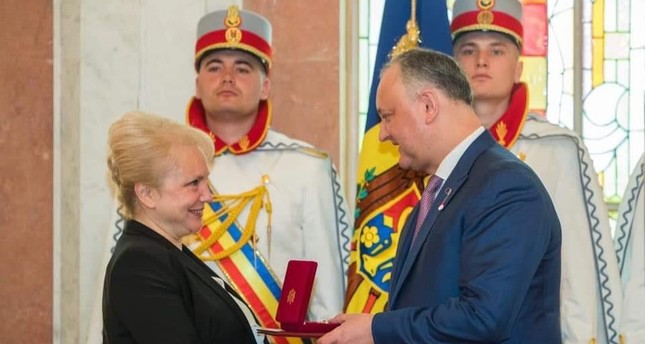 Moldova presents order of honor to TİKA official for services in country