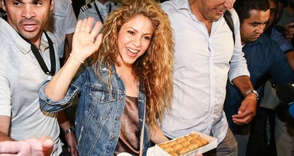 Istanbul welcomes Shakira ahead of 'El Dorado' concert
