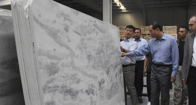 Turkish exporters sell 5M tons of marble blocks to China