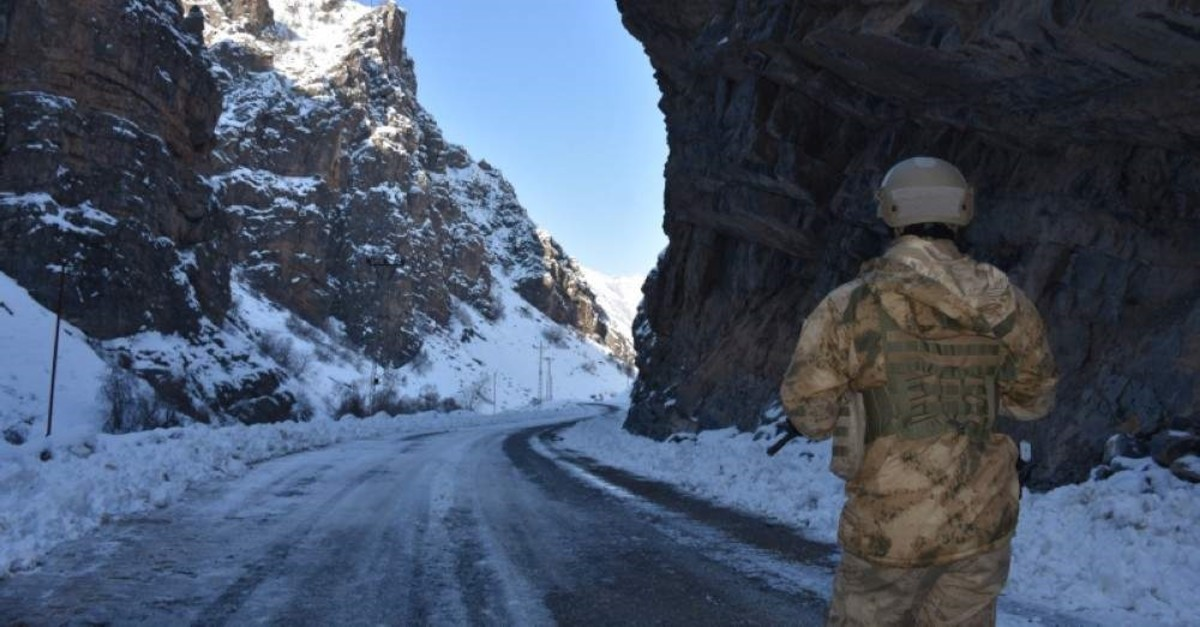 Turkish security forces regularly conduct counterterrorism operations in the eastern and southeastern provinces of Turkey, where the PKK has attempted to establish a strong presence and base. (AA Photo)