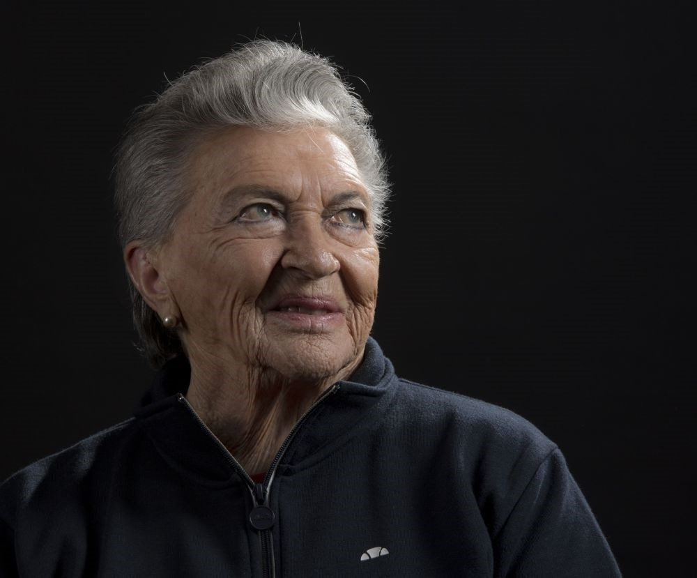 Margot Duhalde claims to be the only woman who signed up to the air force of the French state-in-exile to fight the Nazis in World War II.
