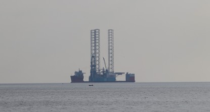 Drilling of second offshore well in Mediterranean begins