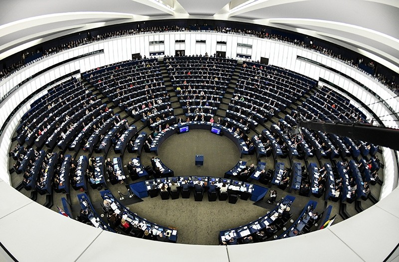 A general view shows the European Parliament in Strasbourg, France (EPA Photo)