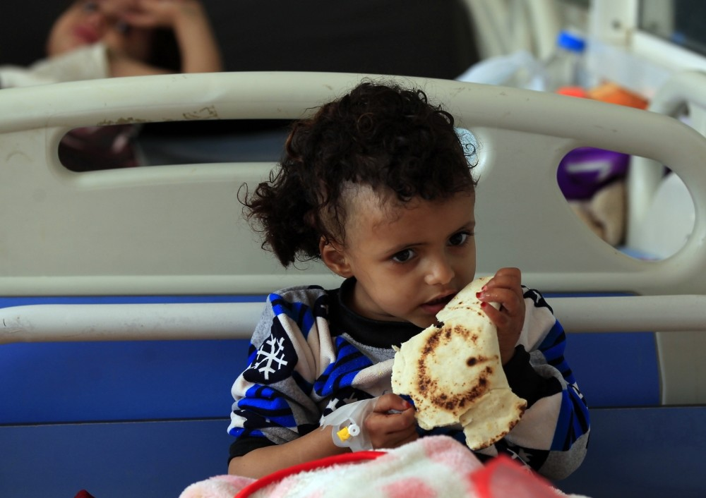 The Saudi-led war in Yemen has since 2015 left some 10,000 people dead and created what the U.N. has dubbed the world's worst humanitarian crisis.