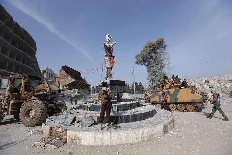 Turkey-backed FSA units liberate Syria's Afrin from PKK/YPG terrorists