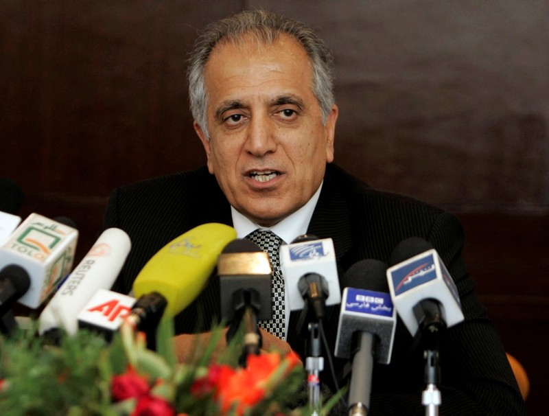 This March 2009, file photo, shows Zalmay Khalilzad, special adviser on reconciliation in Kabul, Afghanistan. (AP Photo)