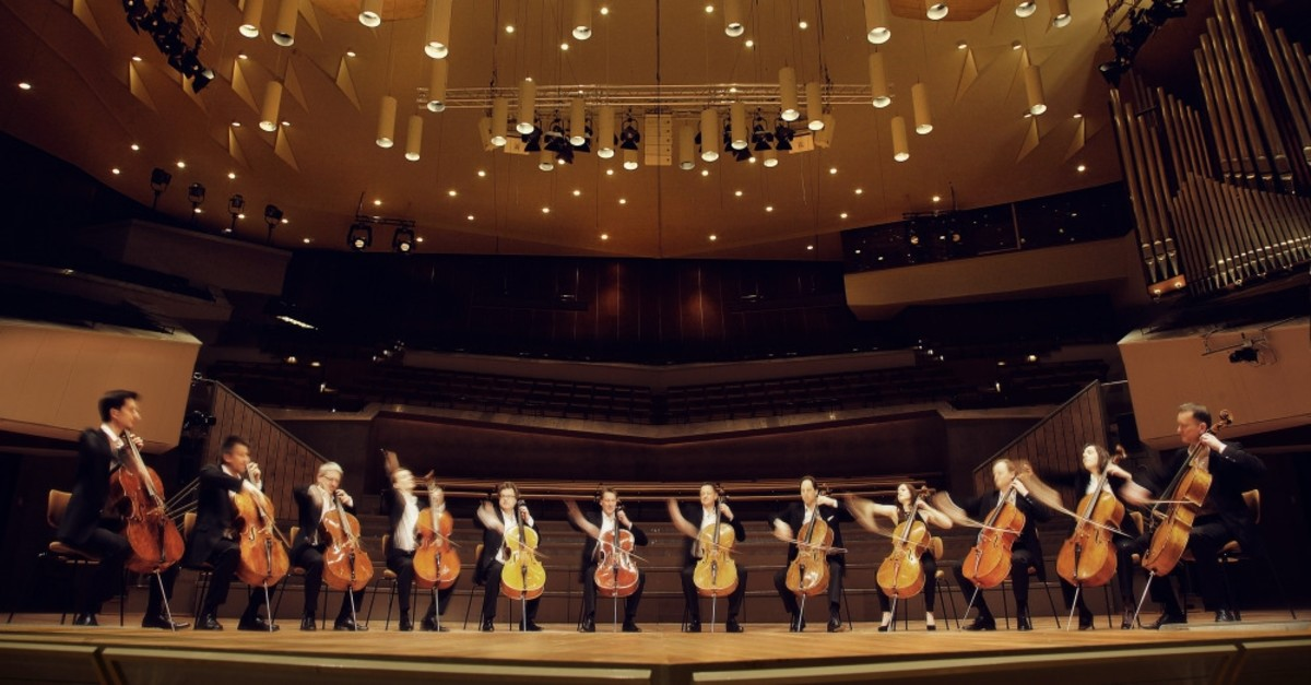 The Berlin Philharmonic's 12 Cellists will sweep the stage at Neue! Step festival on Sept. 29.