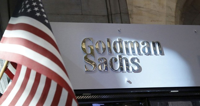 A view of the Goldman Sachs stall on the floor of the New York Stock Exchange July 16, 2013. (Reuters Photo)