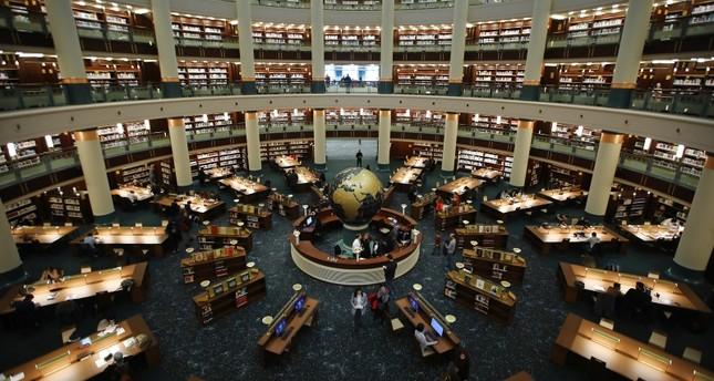 مكتبة الرئاسة التركية.. أكبر صرح لعشاق الكتب من كافة الأعمار