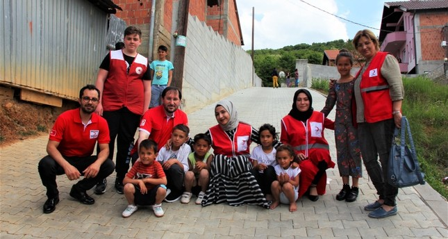 Turkish Red Crescent distributes Ramadan aid in Kosovo's Prizren