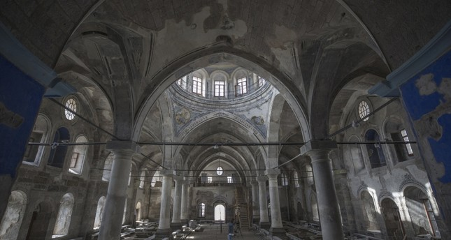 Built between 1835 and 1838 in the historic Kiçikapı district of Kayseri, the church was active until World War I. After the war, the structure was used as a warehouse, exhibition hall, municipal police station and gym over the years.