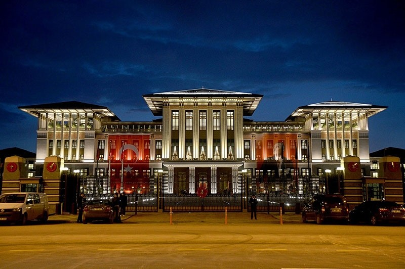 A general view of the Beu015ftepe Presidential Palace Complex in Ankara. (File Photo)