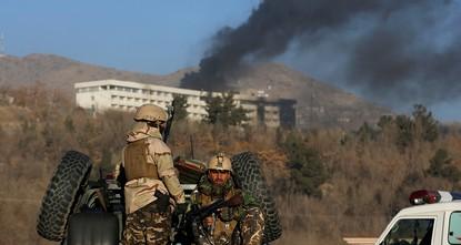 pDie Türkei hat am Sonntag den Terroranschlag auf ein Luxushotel in der afghanischen Hauptstadt Kabul aufs Schärfste verurteilt. Bei dem  Angriff waren in der Nacht zum Sonntag mindestens 18...