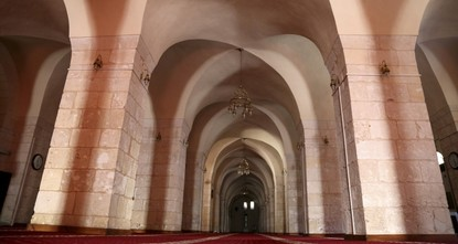 pThe Grand Mosque in southeastern Turkey's Şanlıurfa, a major center of faith tourism, is still standing tall after hosting all three Abrahamic religions over a millennium and is one of Urfa's...