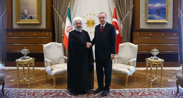أردوغان وروحاني يبحثان هاتفياً إيجاد حل سياسي للأزمة السورية