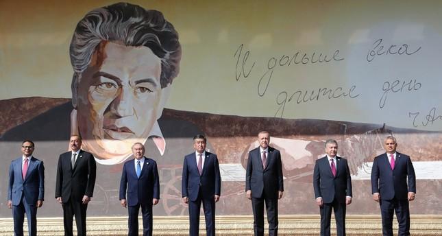 انطلاق أعمال قمة الدول الناطقة بالتركية في قرغيزيا بمشاركة أردوغان
