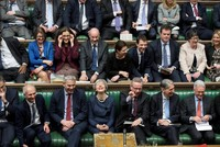 Storms outside, mutiny inside Parliament: Brexit showdown continues