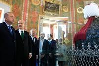 الرئيس أردوغان يفتتح ضريح السلطان محمد الفاتح بعد ترميمه
