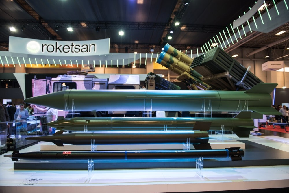 Leading Turkey's efforts to develop national missile programs with constant research and technology development investments, Roketsan unveiled the first domestically produced missile KAAN at 13th IDEF.