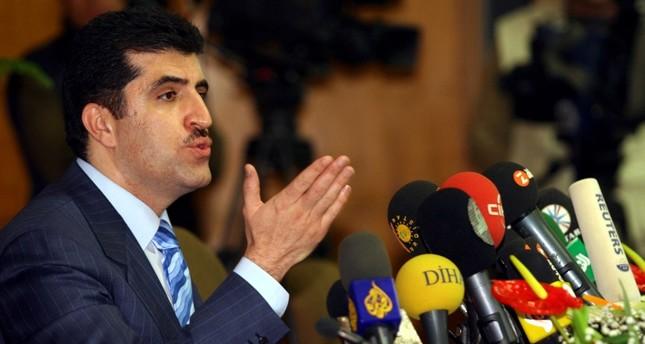رئيس إقليم شمال العراق نيجيرفان برزاني (من الأرشيف)