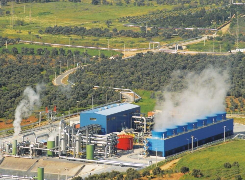 With an installed capacity of 1,1000 megawatts, Turkey has the fourth largest geothermal power capacity in the world.