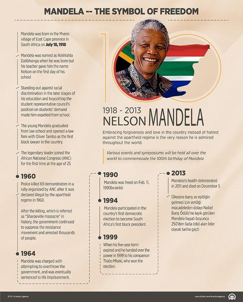 nelson mandela celebrated around the world on 100th birthday