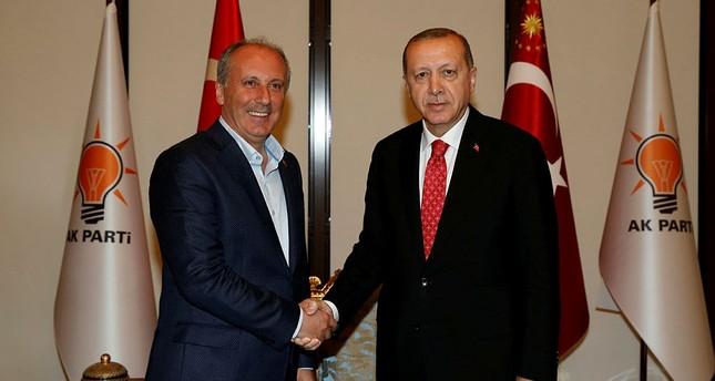مرشح حزب الشعب الجمهوري للانتخابات الرئاسية في ضيافة أردوغان