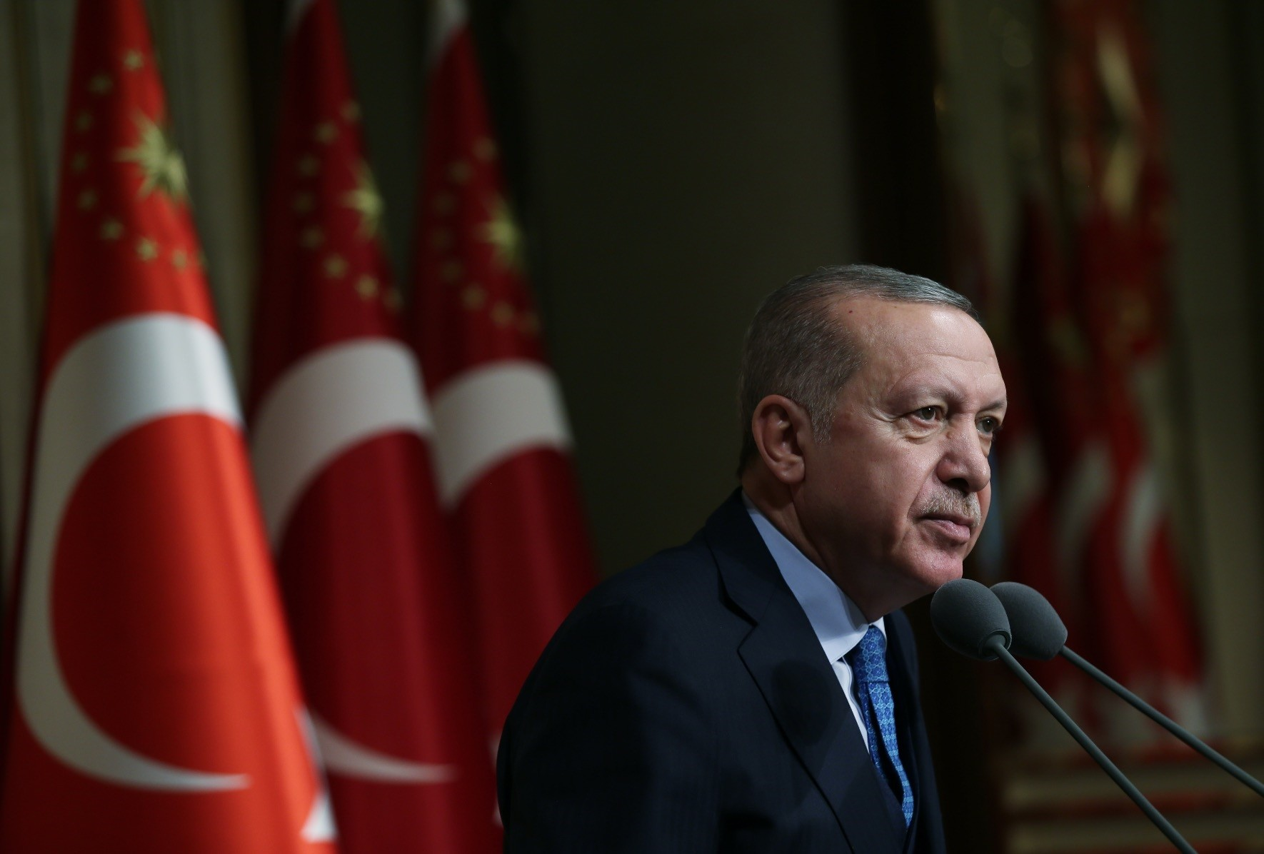In his New Yearu2019s message, Erdou011fan underscored that Turkey sides with stability, justice, tolerance and peace in its region and across the world.