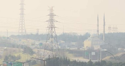 Air pollution levels up in Istanbul